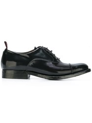 Silvano Sassetti Lace Up Oxford Shoes Black