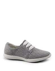G.H. Bass Skyler Mesh Lace Up Sneakers Ash