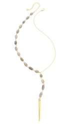 Heather Hawkins Cry Me A River Necklace Labradorite