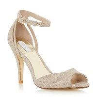 Untold Merelda Two Part Sandal Gold