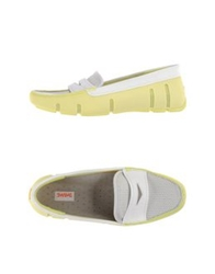 Swims Moccasins Light Green