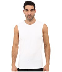 Diesel Motion Division Muscle Tank Top Lami Bright White Men's Sleeveless