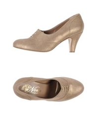 Nora Lace Up Shoes Bronze