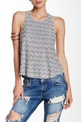 Angie Knit Tank Gray
