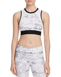 Alala Swell Crop Tank White Shadow