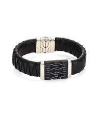 John Hardy Classic Chain Collection Pyramid Accent Bracelet No Color