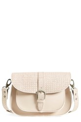 Maison Scotch Perforated Shoulder Bag Pink