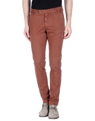 Original Vintage Style Casual Pants Rust