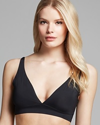 Yummie Tummie Yummie By Heather Thomson Bra Ava Low Back Plunge Yt7 003 Black