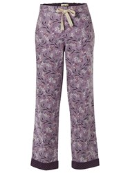 White Stuff Nuts About Squirrels Pj Bottom Fondant Purple