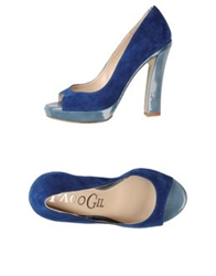 Paco Gil Pumps With Open Toe Black