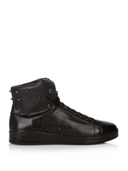 Alexander Mcqueen Studded High Top Trainers
