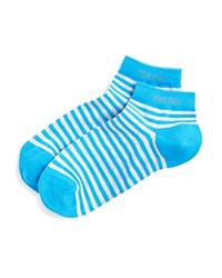 Boss Hugo Boss Marc Stripe Ankle Socks Medium Blue
