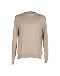 J For James Knitwear Jumpers Men Beige