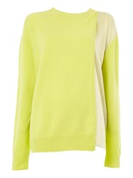Haider Ackermann Layered Knitted Top Green