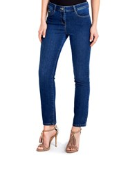Wallis Petite Denim Straight Jean Denim Faded