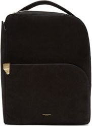 Wooyoungmi Black Suede Backpack