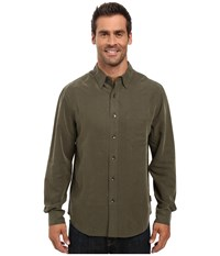 Royal Robbins Desert Pucker Dark Olive Men's Clothing