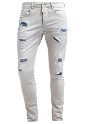 Antony Morato Duran Slim Fit Jeans Ash Off White