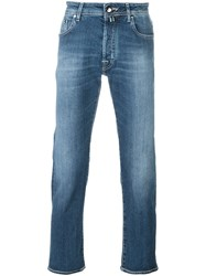Jacob Cohen 'Navy Lav' Slim Fit Jeans Blue