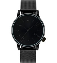 Komono Black Winston Royale Watch