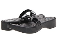 Dr. Scholl's Roll Black Rumple Women's Shoes