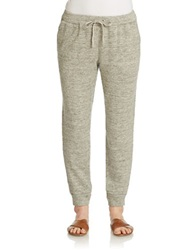 Eileen Fisher Linen And Cotton Sweatpants Moon