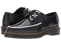 Dr. Martens Belladonna Pointed 2 Eye Creeper Black Polished Smooth Women's Lace Up Casual Shoes