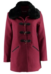 Darling Blythe Short Coat Burgundy Bordeaux