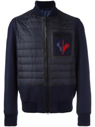 Rossignol Padded Panel Bomber Jacket Blue