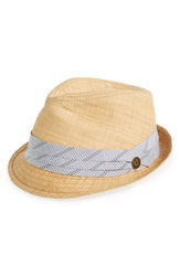 Goorin Bros. 'Coolridge' Woven Fedora Tan