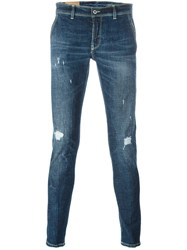 Dondup 'Konor' Skinny Fit Jeans Blue