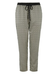 Maison Scotch Drawstring Relaxed Fit Pants Multi