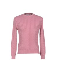 Della Ciana Knitwear Jumpers Men Light Purple