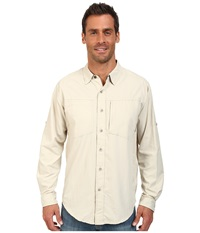 Exofficio Geotrek'r L S Top Bone Men's Long Sleeve Button Up