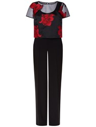 Fenn Wright Manson Kaleidoscope Jumpsuit Red