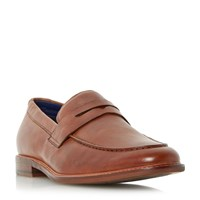Dune Bates Casual Penny Loafers Tan