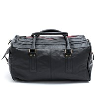 Roque Bags Duffle Bag Palermo Black And Red Zipper