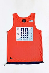 10.Deep Trackside Tech Tank Top Red