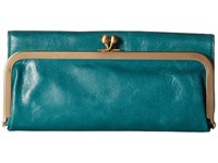 Hobo Rachel Teal Green Clutch Handbags