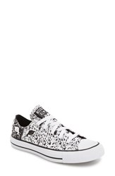 Converse Women's Chuck Taylor All Star Animal Print Low Top Sneaker