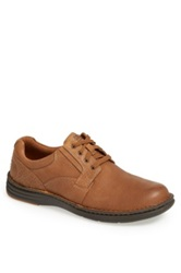 Dunham 'Crusade' Plain Toe Derby Brown