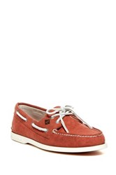 Sperry Authentic Original 2 Eye Boat Shoe Red