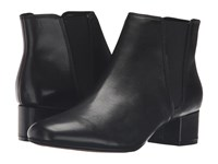 Clarks Cala Jean Black Leather Women's Boots