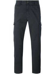7 For All Mankind Straight Leg Cargo Trousers Grey