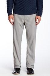 Bonobos The Highland Pinstripe Pant 30 36' Inseam Gray