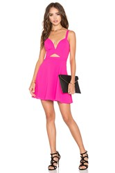 Nbd X Naven Twins Alright Sweetheart Fit And Flare Dress Pink