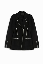 Alexander Wang Wool Motor Jacket Black