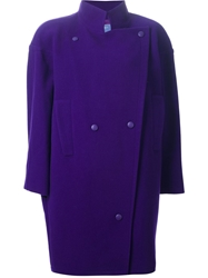 Thierry Mugler Vintage Oversized Coat Pink And Purple