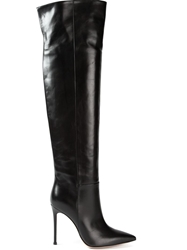 Gianvito Rossi 'Madison' Knee High Boots Black